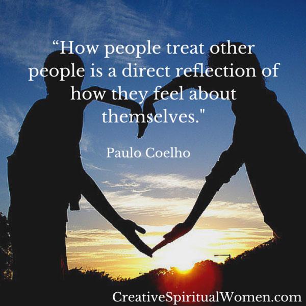 Paulo Coelho from CreativeSpiritualWomen.com