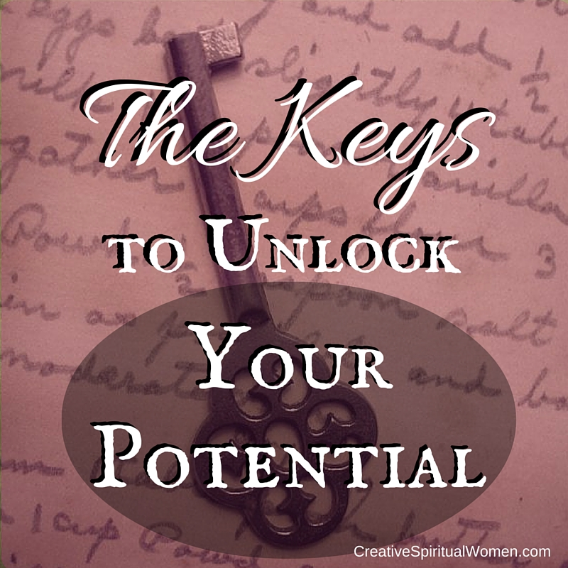 Creative Spiritual Women The Keys to Unlock Your Potential