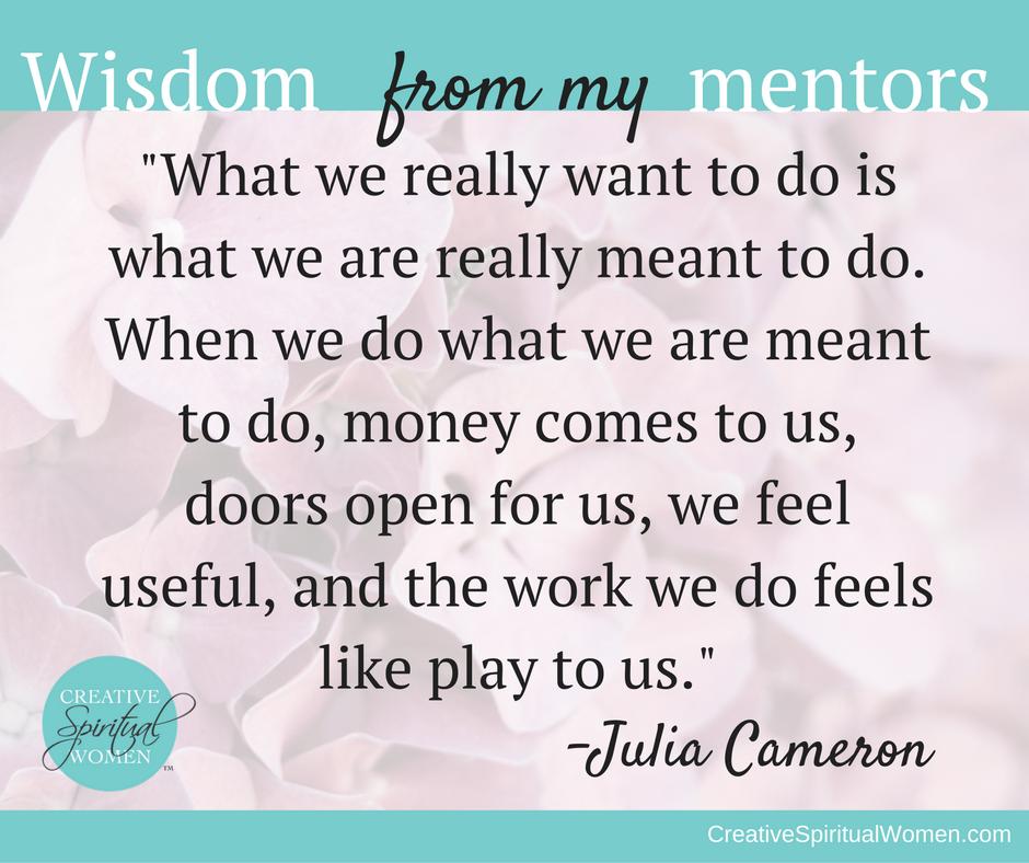 wisdom-julia-cameron